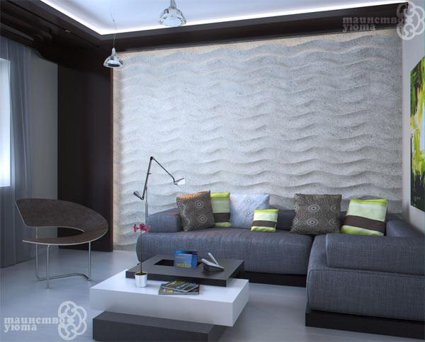 декоративные стеновые панели 3d