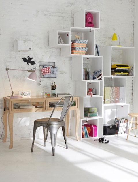 дизайн интерьера в белом цвете детская