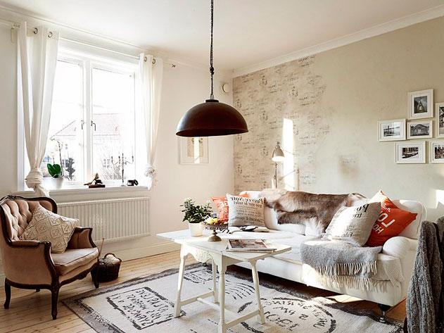 дизайн интерьера в белом и бежевом цвете