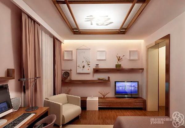 японский стиль на примере комнаты фото