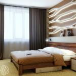 Интересное оформление изголовья кровати. Выбери подходящий дизайн