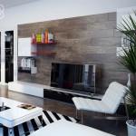 Декоративная отделка стен деревом, натуральность в фаворе