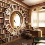 Книжные стеллажи в интерьере. Все по местам
