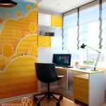 Рабочее место для ребенка: безграничные возможности дизайна