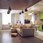 Лучшие варианты зонирования комнаты