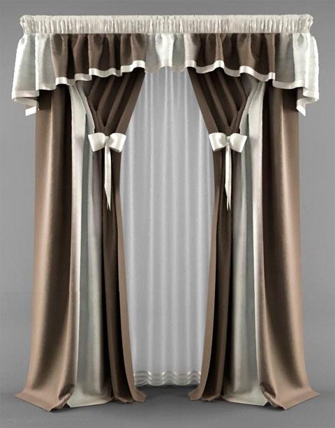 шторы с ламбрекеном как вариант дизайна