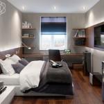 Универсальные идеи для узкой спальни, работаем с пространством