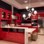 Красный цвет в интерьере фото инструкция к применению