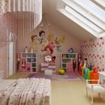 Варианты детской комнаты для девочки: все для любимой дочурки