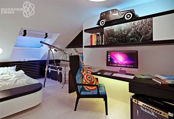 рабочее место в спальне дизайн фото