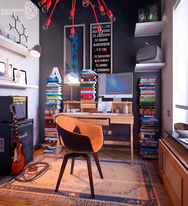 варианты оформления рабочего места в квартире фото