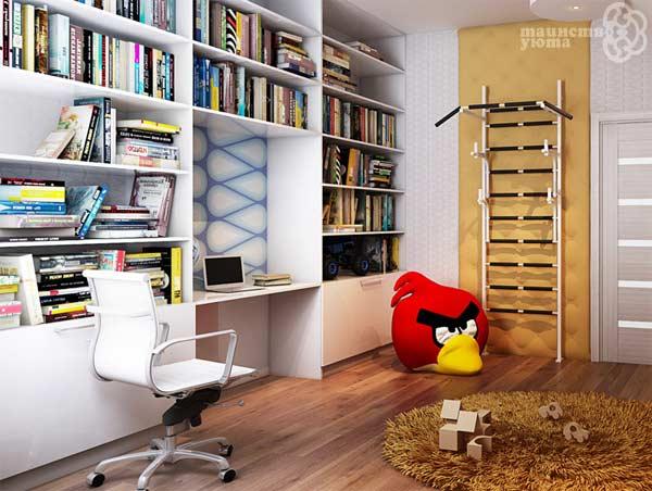 встроенное рабочее место в квартире фото
