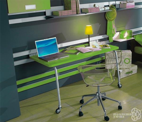 дизайн современного места для работы в квартире