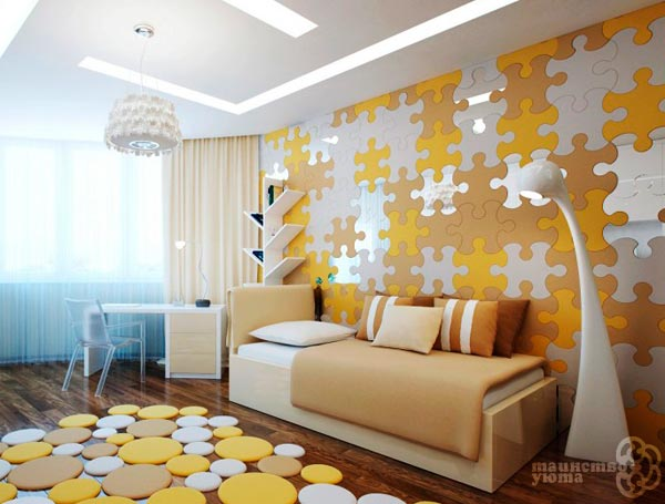 использование зеркала в дизайне интерьера гостиной