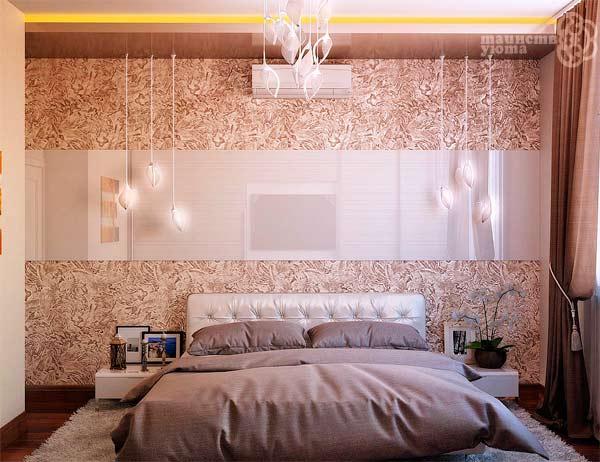 отделка стен декоративной штукатуркой фото