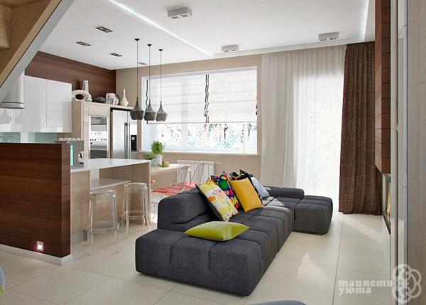 идеи и примеры в дизайне квартиры студии