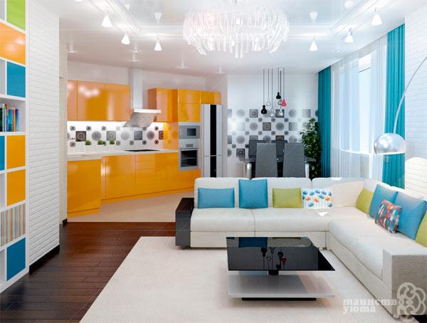 япкий дизайн квартиры студии фото