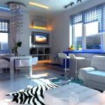 Примеры дизайна квартиры студии, 20 оригинальных идей