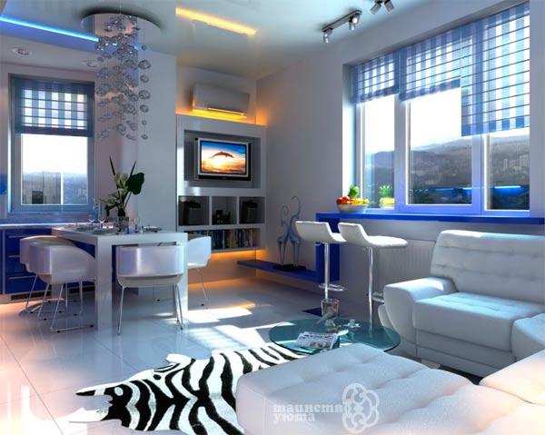 Примеры дизайна квартиры студии фото