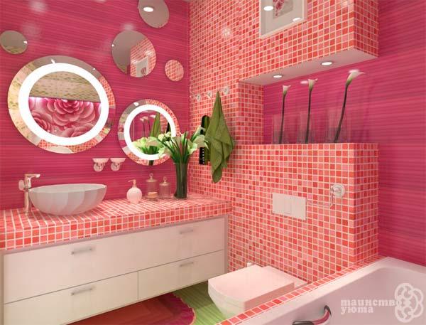 как оформить умывальник в ванной фото