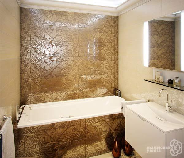 оригинальные отделочный материаля для ванных комнат