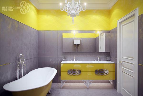 яприй пример дизайна ванной