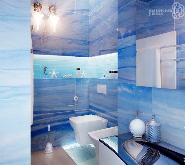 отделка стен в ванной примеры дизайна
