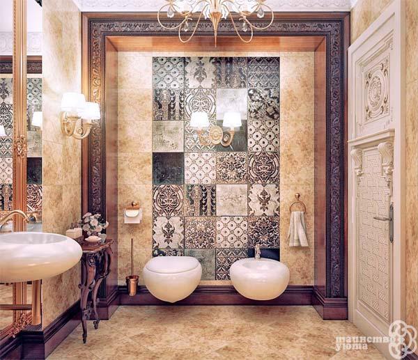 пример декора в интерьере ванной фото