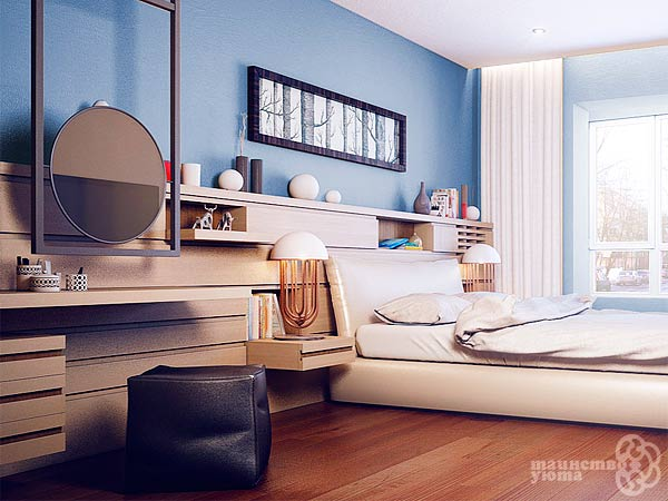 туалетный столик в дизайне спальни фото