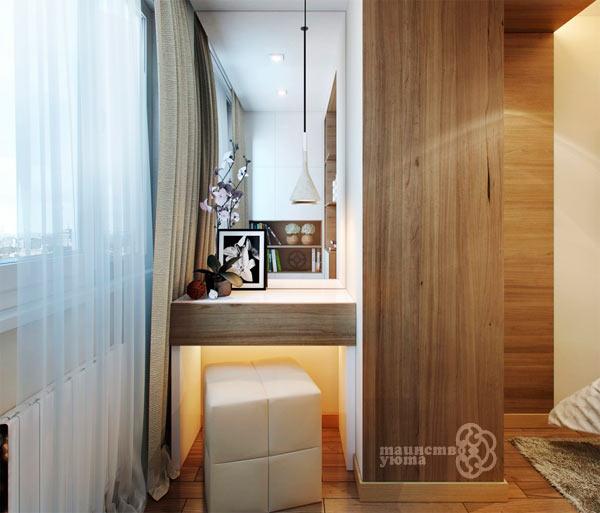 туалетный столик на балконе фото