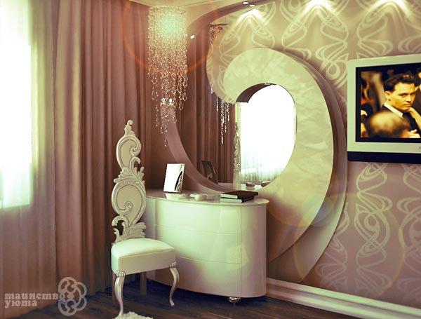 варианты дизайна туалетного столика фото
