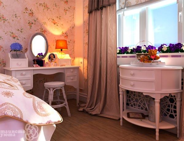 туалетный столик для девочки фото