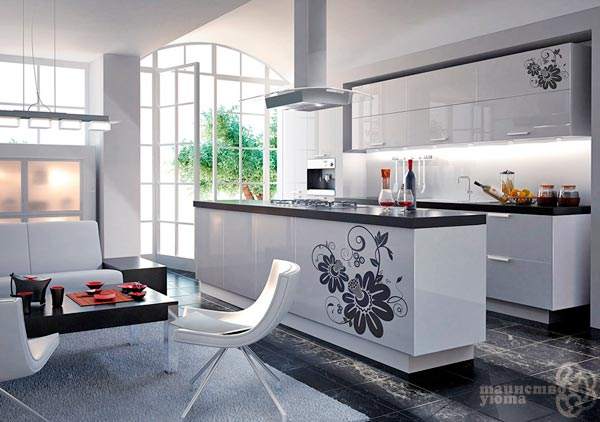 Декор мебели виниловыми наклейками фото