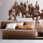 Как быстро и оригинально украсить свой дом? Виниловые интерьерные наклейки.
