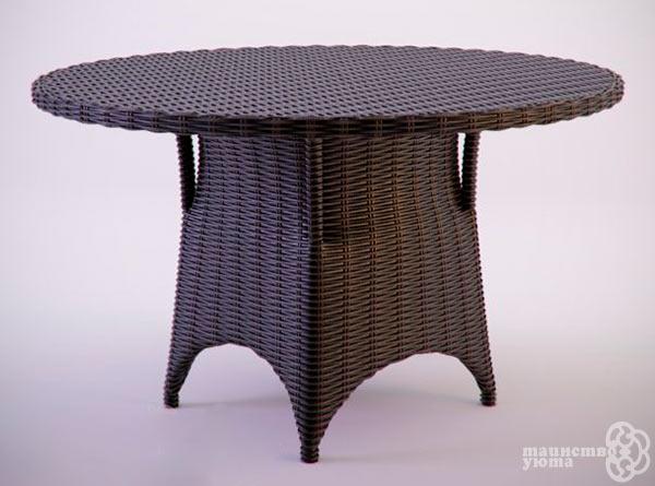 журнальный столик плетеный из лозы