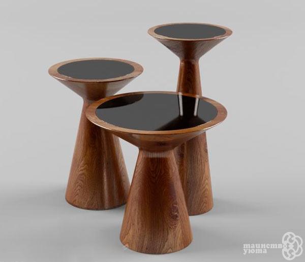 вариант жкрнального столика для интерьера