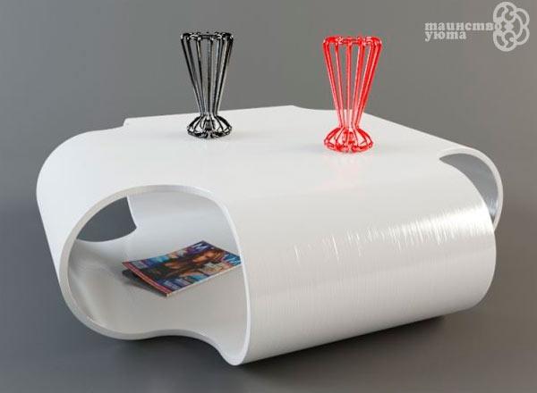 журнальный столик в гостиную из пластика