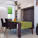 Создаем дизайн столовой зоны – основные привила для успешного результата.