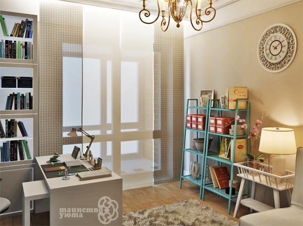 стиль проанс в дизайне интерьера кабинета