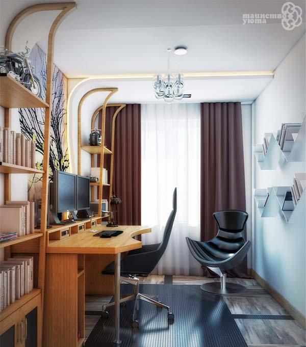 современный рабочий кабинет дома фото