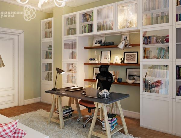 мебель необходимая в рабочем кабинете