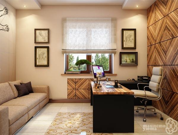 Домашний рабочий кабинет дизайн фото