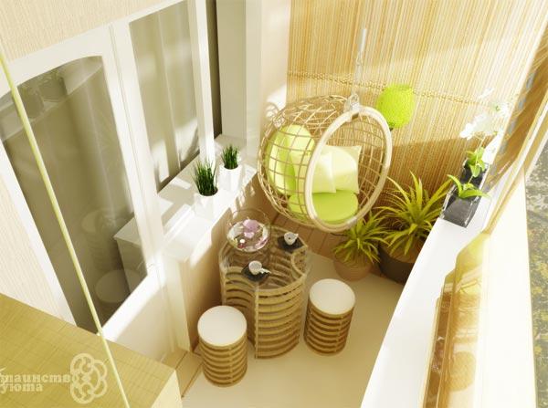 идеи дизайна для узкого балкона фото