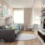 Идеи дизайна маленькой гостиной, размер не имеет значения