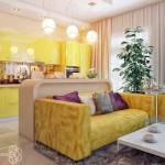 На что способен интерьер комнаты в желтом цвете – секреты влияния на человека