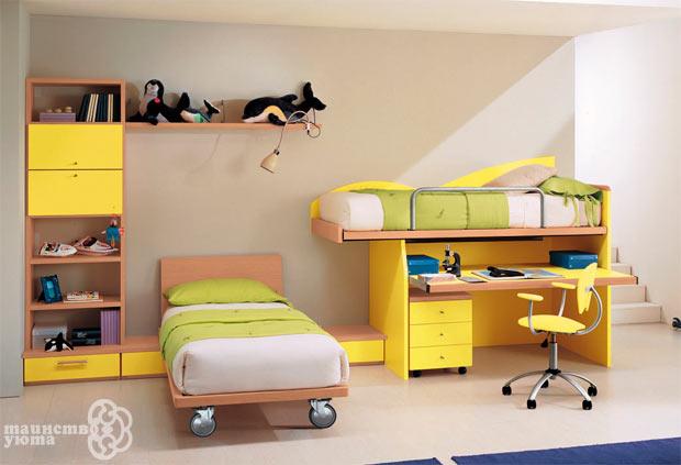 детская комната мебель для двоих