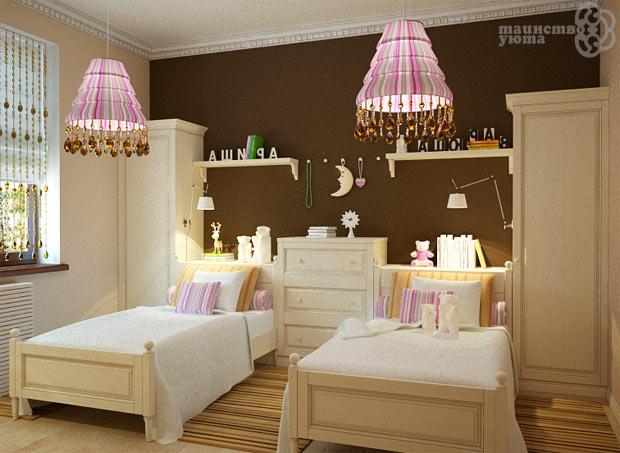 фото детской комнаты для двоих