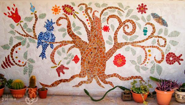 декоративное панно из мозаики своими руками