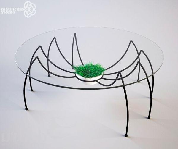 круглый журнальный стол для гостиной