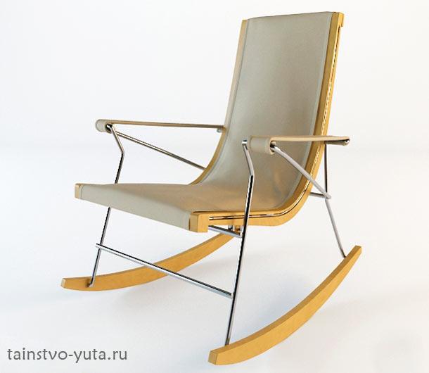 минималистичное кресло качалка фото